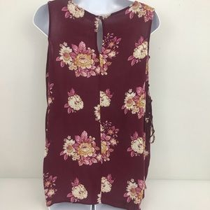 Hippie Rose Tops - Hippie Rose cold shoulder bell sleeve top size M